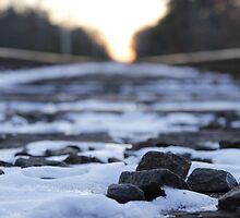 Rocks and Train Tracks by RaymondJames
