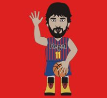 NBAToon of Juan Carlos Navarro, player of Barcelona by D4RK0