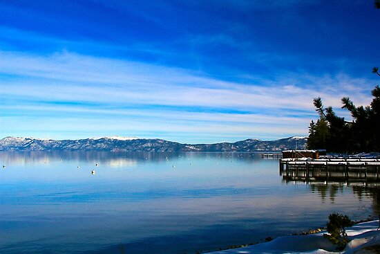 Tahoe Layers by Barbara  Brown