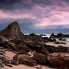 Moody Scene at Shipwreck Creek by Alex Fricke