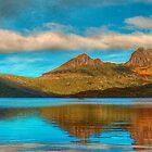 Cradle in Fagus - Cradle Mountain , Tasmania Australia - The HDR Experience by Philip Johnson