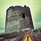 Nuraghi Tower Isola Rossa by J F Harrison