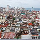Havana Skyline by gleadston