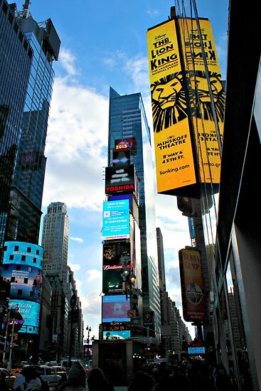 Times Square, NYC by Jeanette Muhr