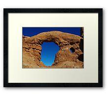Big arch, Utah Framed Print