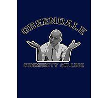Greendale Community College - Dean Pelton Photographic Print