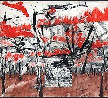Palette in den Bäumen by emilys