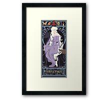 Amalthea Nouveau - The Last Unicorn Framed Print