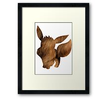 Eevee used Tail Whip Framed Print