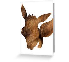 Eevee used Tail Whip Greeting Card