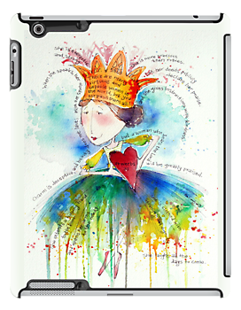 Proverbs 31 I Pad Case by Eva C. Crawford