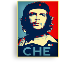Che  hope poster 2 Canvas Print