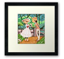 Jolly Holiday Framed Print