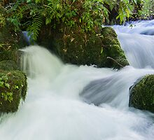 Scenic waterfall. by brians101