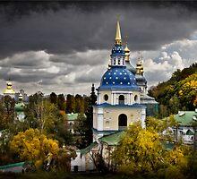 Vydubychi Monastery by Yelena Rozov
