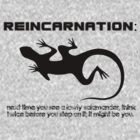 Reincarnation by etraphagan