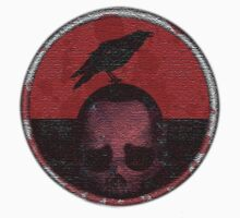 deceased mercenary patch sticker by thugrigby