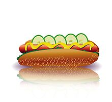 hot dog by valeo5