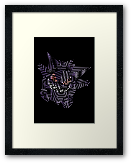 Ornate Gengar by Colossal