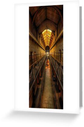 Porridge #2- Old Melbourne Gaol, Melbourne Victoria Aust. - The HDR Experience by Philip Johnson