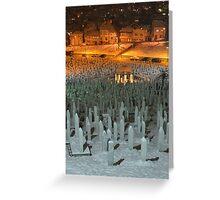 Civil War Cemetery Greeting Card