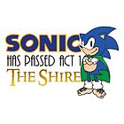 Sonic Has Passed Act 1 - The Shire by RetroReview