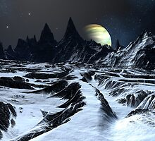 Track Across the Badlands by SpinningAngel