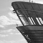 Control Tower b&w by John Taylor