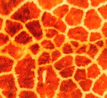 textures giraffe skin animals pastel by Adam Asar