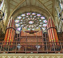 The Organ - Arundel Cathederal - HDR by Colin J Williams Photography