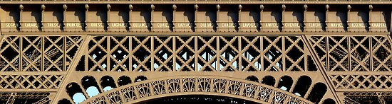 The list of scientists - Detail on Eiffel Tower (click!) by bubblehex08
