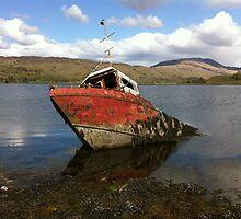 The Sunken Boat by copper160