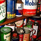 Antique Oil Cans by aebritton
