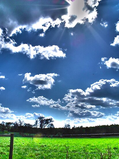 Countryside Landscape by tommo1192