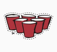 Beer Pong Cutout by Nathan Smith