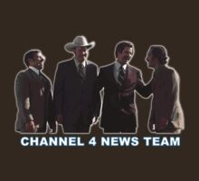 Anchorman - Channel 4 News Team by Graham Lawrence