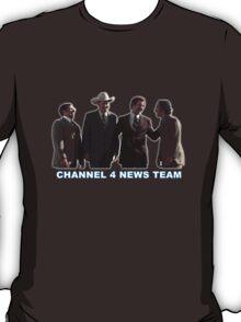 Anchorman - Channel 4 News Team T-Shirt