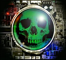 Cyber Skull by jester666