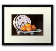 It's Yellow Tomato Time Framed Print