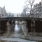 Bridges in Amsterdam by Lorren Stewart