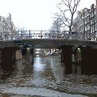 Bridges in Amsterdam by Lorren Stewart