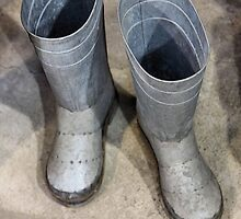 Tin Boots, For The Tin Man Of Course by SuddenJim