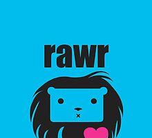 Lionheart Rawr by meikimeii