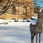 Courthouse Deer dressed in Nemo by Cheri Sundra