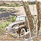 Antique Farm Truck by KristaDawn