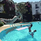 Family Fun Time - Bodrum by Lorren Stewart