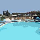 Pool Time in Bodrum! by Lorren Stewart