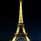 Paris at night- Eiffel Tower by Andrew  MCKENZIE