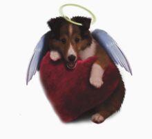 Sheltie Puppy Angel Kids Clothes