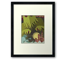 When He Wakes... Framed Print